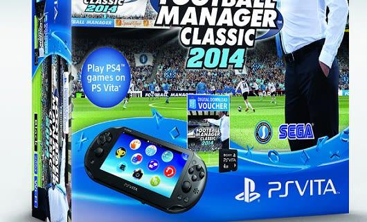 Football Manager 2014 scores Vita Slim bundle in the UK