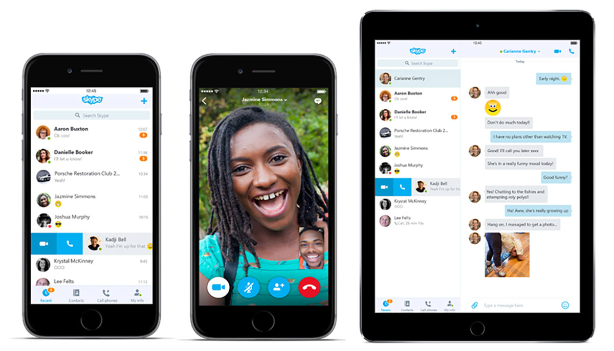 Skype 6.0 brings revamped design to both iOS and Android