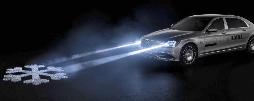 Mercedes' futuristic headlights are no longer just a concept