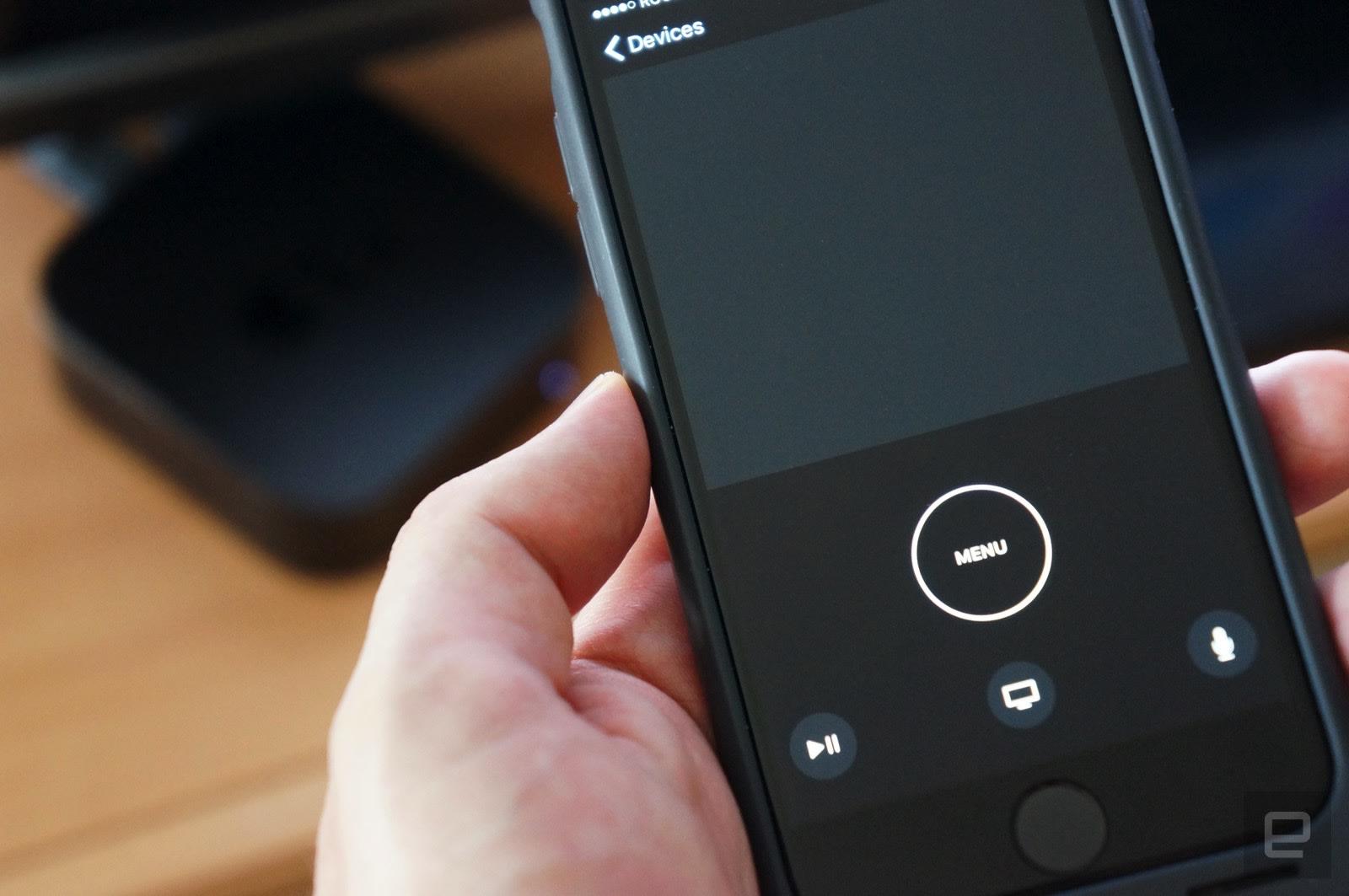Apple TV's new iPhone remote control app talks to Siri