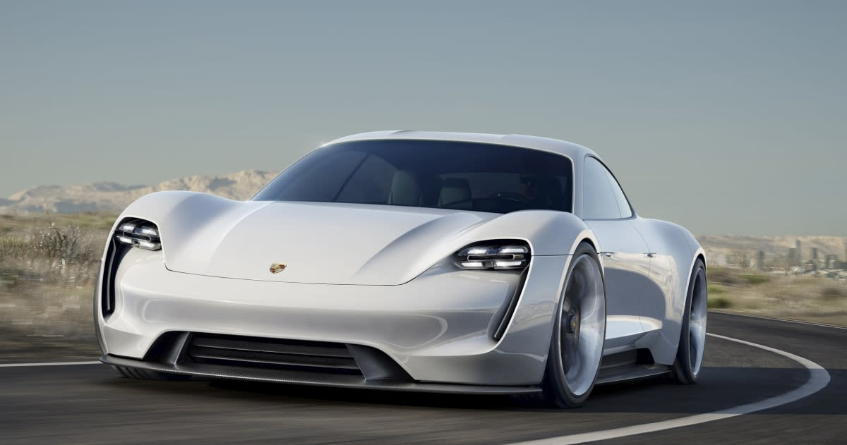Porsche Mission E Concept puts Tesla Model S in its sights