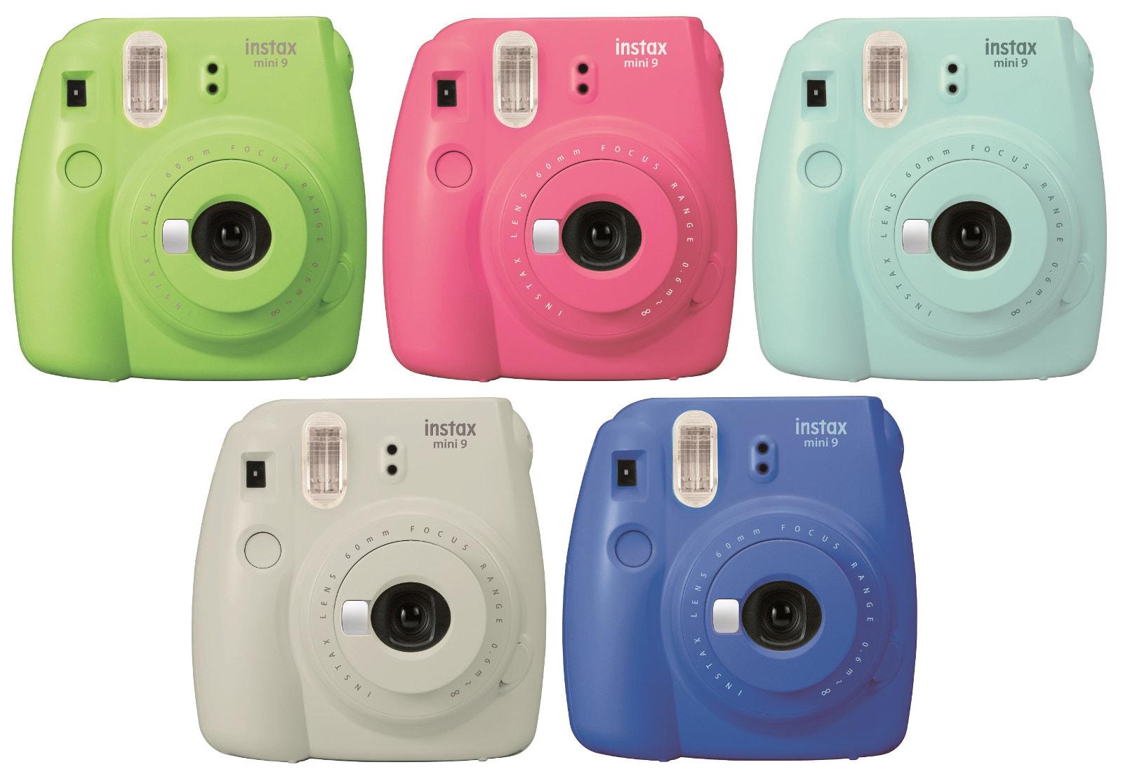 296fb5f93ca1 Fujifilm s Instax Mini 9 is colorful and selfie friendly