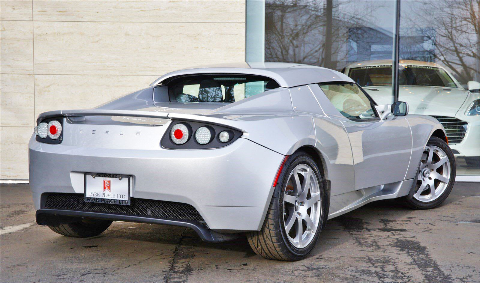 Tesla Roadster prototype up for auction starting at $1 million