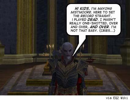SOE caught red-handed: EQ2 Player / Dev relationship breached