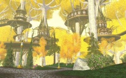 LotRO's Book 7 Lothlorien patch files available early