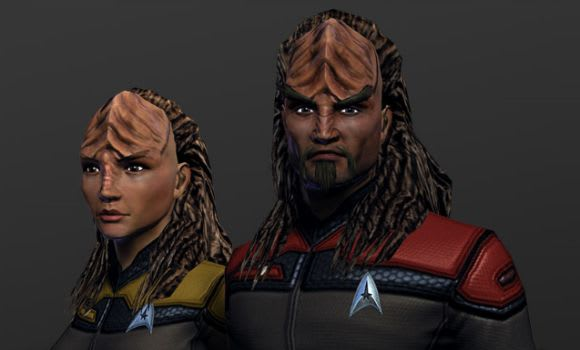 Star Trek Online offers two new races in online store