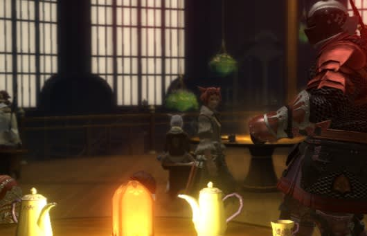 Final Fantasy XIV previewing player residences for patch 1 21