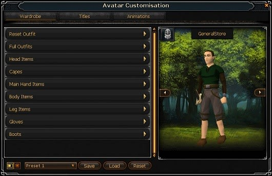 RuneScape general store makes its debut