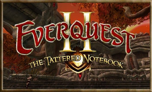 The Tattered Notebook: Pitfalls of powerleveling in EQII