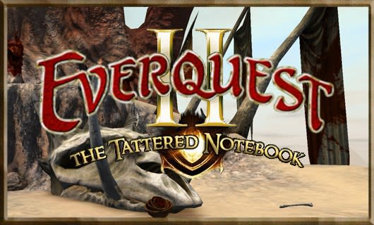 Tattered Notebook: It's the little things that count in EQII updates