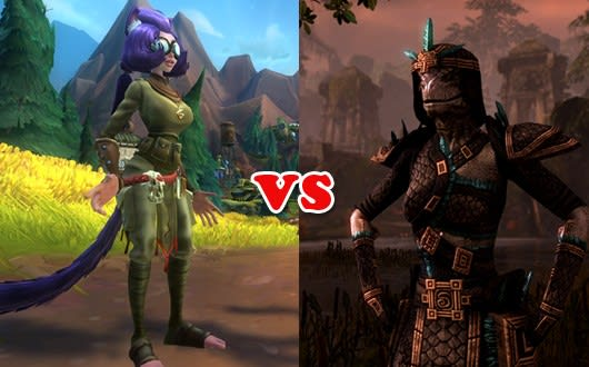 Leaderboard: WildStar vs  The Elder Scrolls Online