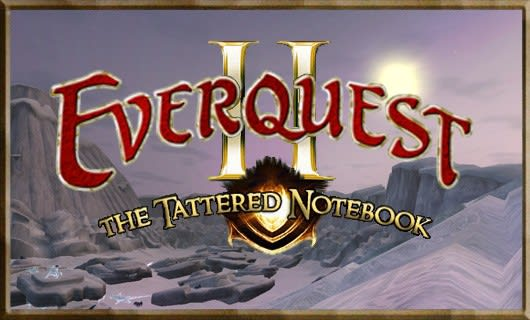 The Tattered Notebook: Forging your own leveling path in EverQuest II