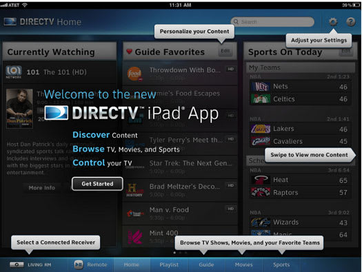 directv app not downloading shows