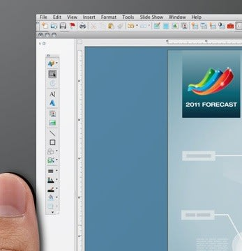 No Comment: Viewsonic ViewPad 10 press image shows a familiar OS