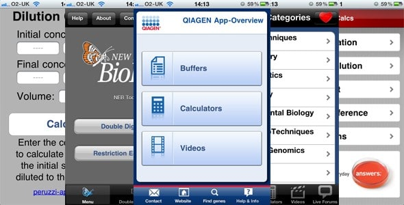 Seven free iOS apps to help you out in the lab