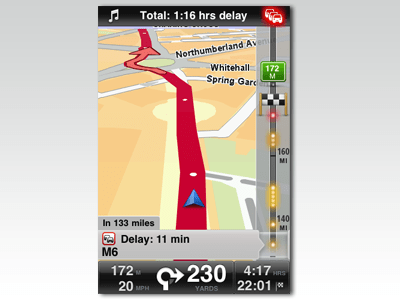 TomTom GPS app offers good maps, terrible interface