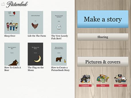 Daily iPad App: Picturebook