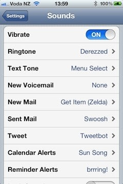 iOS 5 features: Custom notification sounds and alerts now available