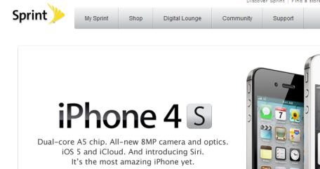 Sprint reports 'best day ever' of sales with iPhone 4S launch