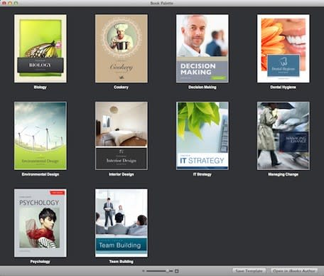 Daily Mac App: Book Palette adds ten new templates to iBooks Author