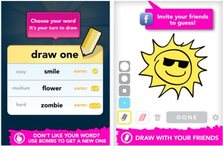 Daily Iphone App Draw Something