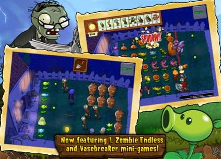 Plants vs  Zombies updated with new mode