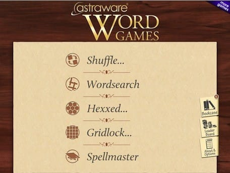 Astraware Word Games for Mac, iOS -- have fun, increase your