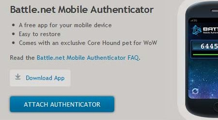 Don't forget to change your Blizzard Authenticator with your