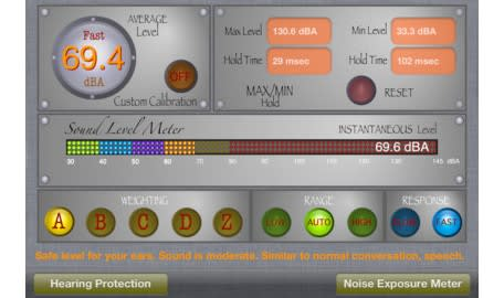 Daily iPhone App: SoundMeter+ monitors your environment for
