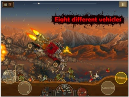 Daily Iphone App Earn To Die Lets You Upgrade Cars Kill Zombies