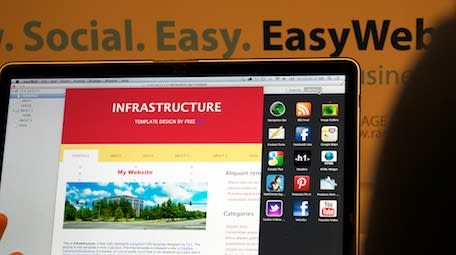 Rage Software demos EasyWeb at Macworld: a modern replacement for iWeb