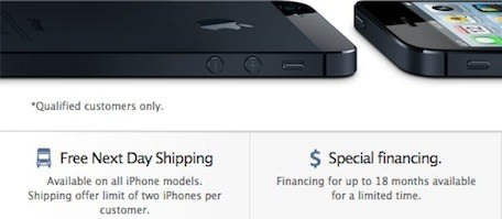 Free iPhone next-day shipping makes Apple online store
