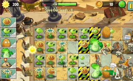 EA/Chillingo's E3 2013 offerings: Plants vs Zombies 2