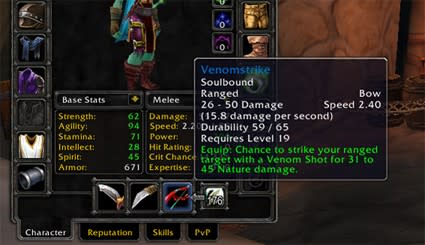 WoW Rookie: Weapon mastery