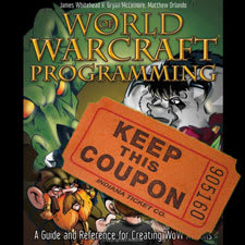 WoWInterface to raffle off WoW programming books