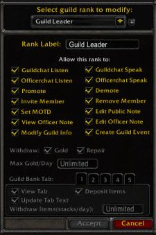 wow guild ranking