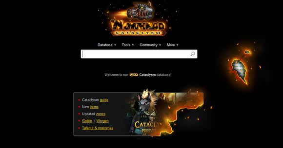 wowhead launches cataclysm database