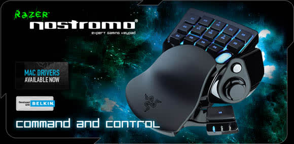 Reviewing the Razer Nostromo: A comfortable place to rest