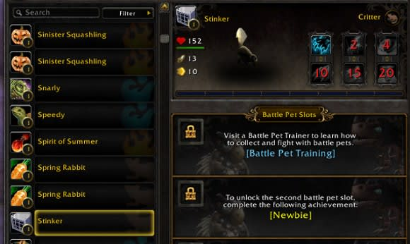 What you should know about account-wide pets, mounts and