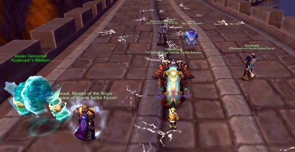 Terror in the Mists: Clawing up the levels on a PvP realm