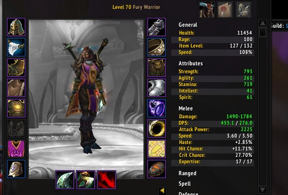 The Care and Feeding of Warriors: Leveling a new warrior, Part 1