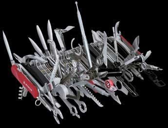 Giant Swiss Army Knife Offers 85 Tools Engadget