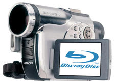 Hitachi boiling up a Blu-Ray camcorder