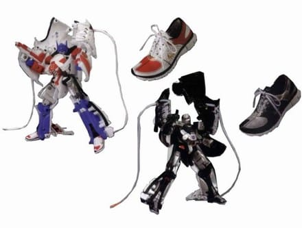 567cf4e43492b Transformers bust out of Nike Free shoes