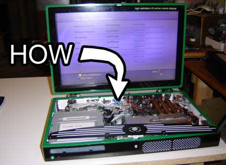 How-To: Make an Xbox 360 laptop (part 1)