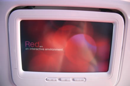 Hands-on with Virgin America's RED in-flight entertainment system