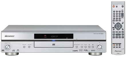 Pioneer's DV-800AV DVD player upscales to 1080p, plays SACD