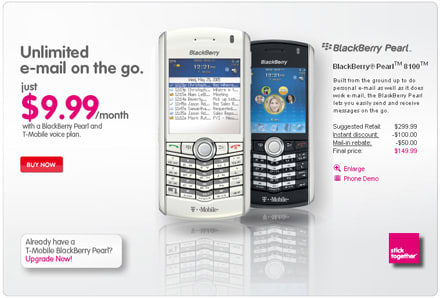 T-Mobile hits bargain basement with new data, BlackBerry plans