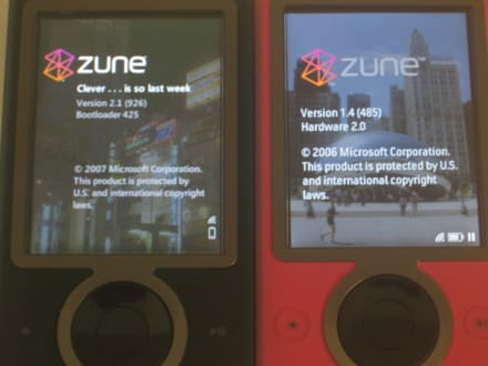 How to load zune firmware update info: a tutorial.
