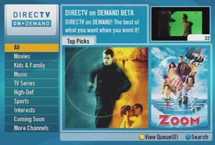 DirecTV on Demand becoming active for HR21 users